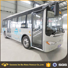 51 - 70 km/h Max Speed new energy pure electric city bus passenger bus for sale