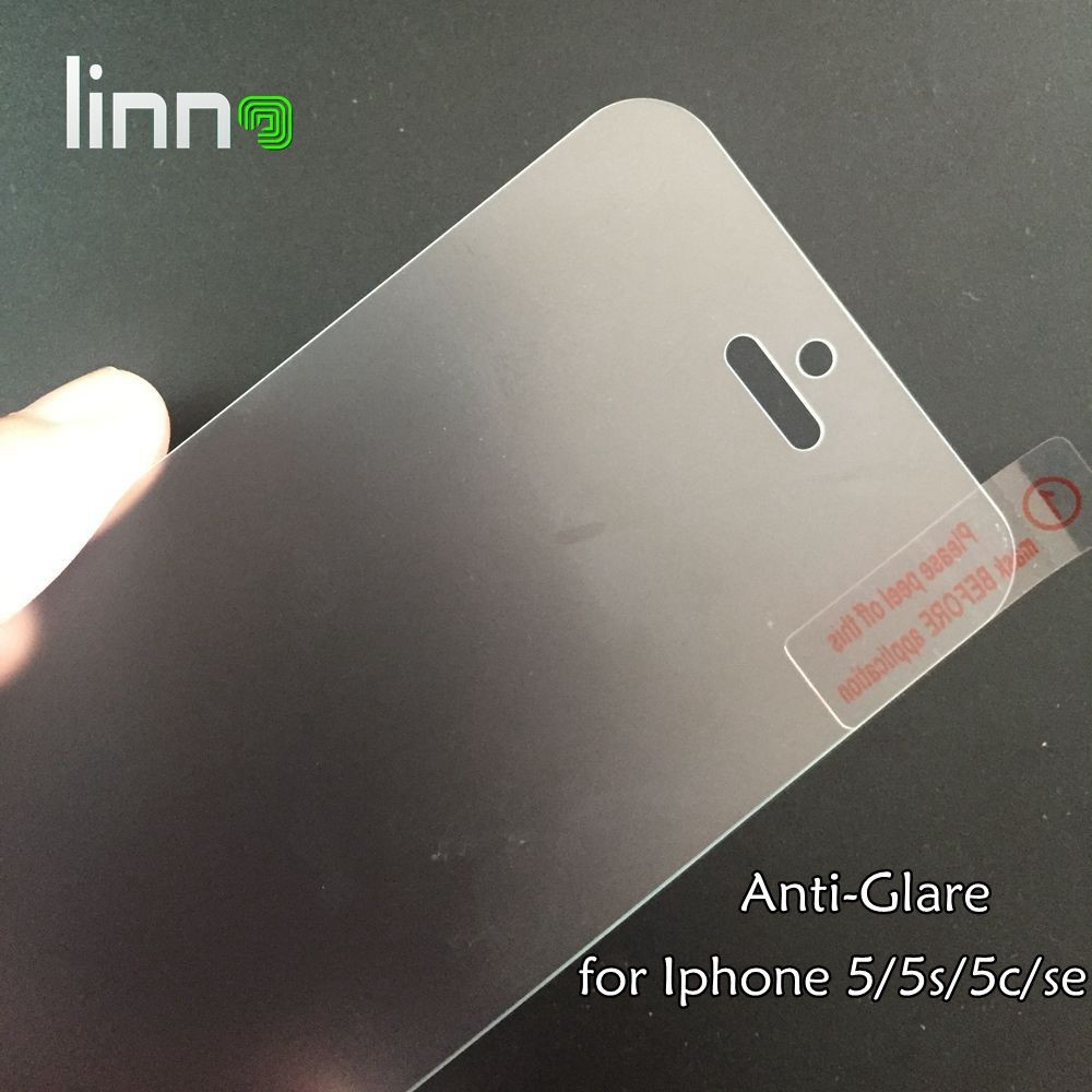 9H LINNO clear Matte Tempered Glass screen protector for iphone se