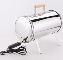 2017 high quality spit roasting barbecue outdoor electric camping stainless steel bbq grill