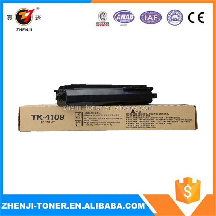 Toner cartridge for Kyocera TASKalfa 1800 1801 used for TK-4108