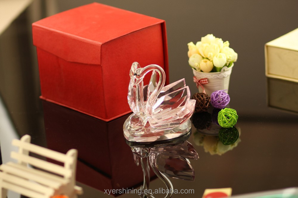 AAAYIWU new product crystal kissing swans High quality