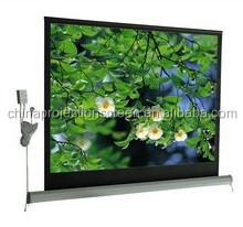 Home theater Matte white Electric projectpr screen with 1:1,4:3,16:9 various format