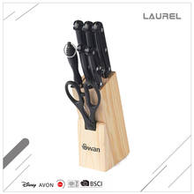 Custom made Stocked PP knife block set for gift