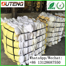 100% Pure White Recycled PU foam scrap,scrap PU foam in bales