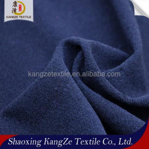 Soft feeling one side burshed fleece fabric for sportswear