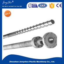 chrome/nitride/bimetallic single screw and barrel for plastic extruder machine