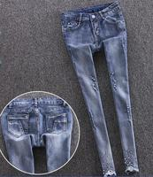 z80760B fashion lady woman jeans new designs photos ladies jeans pant and shirt