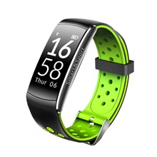 IP68 Waterproof Fitness Tracker Heart Rate Automatic Sleep Monitoring Q8 Smart Watch