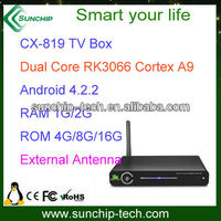 Android TV box OEM, Dual core,external antenna,1080P,HDMI