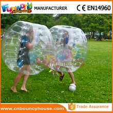 Inflatable bubble ball suit for football sale knocker ball