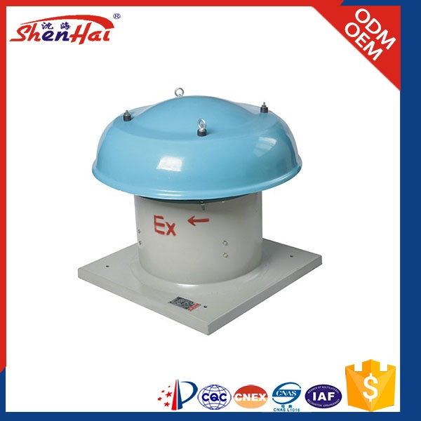 Made in China Explosion proof roof top ventilation fan,roof ventilator