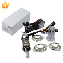 12V 35W High bright OEM Motor/Motorcycle Bike Hid Lights Kit H6 Xenon Bulbs 3000lm