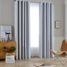 Block 85% -99% Sunlight and Ultraviolet Soft Jacquard Fabric Curtain