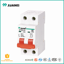 Solid quality and price of MCB GTB6-63 10 amp 2 pole miniature circuit breaker