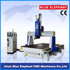 high precision 4 axis cnc wood router, 1530 wood cnc router with 4 axis