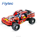 Flytec 2017A-6 431pcs Block 4 Channel 2.4Ghz 8 - in - 1 DIY Building Block Remote Control Off Road Vehicle RC Car Kit