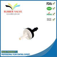 "3/16"" plastic air release membrane low pressure safety valve"