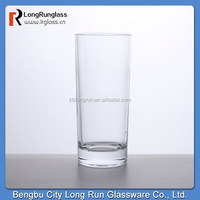 LongRun high quality 12oz stemless clear glass tumbler Collins glass for barware mixed drink ware