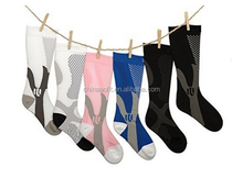 Custom Socks High Elastic Nylon Stretched Socks For Promotion