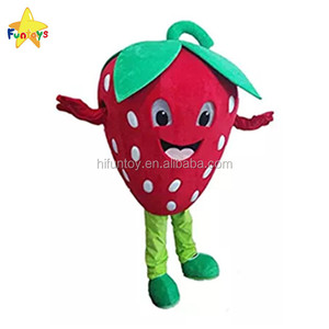 Funtoys CE Fruit Strawberry Shortcake Mascot Costume