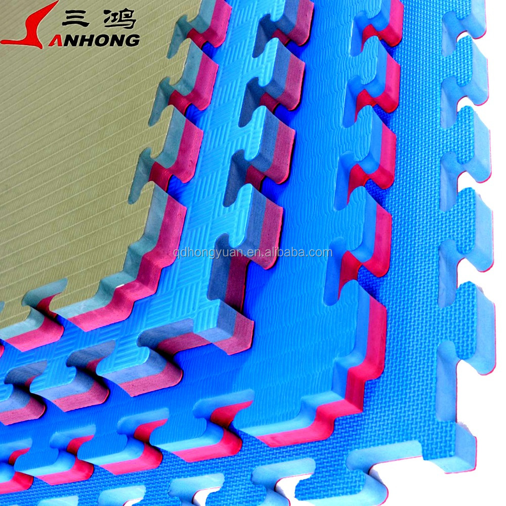 China supplier factory wholesale high density Non Toxic EVA foam Interlocking Taekwondo/Martial Art/karate/kung fu Tatami Mat