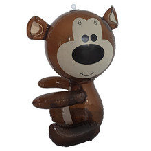 hot selling small pvc inflatable bear toy