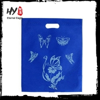 Recycle customed nonwoven punching bag, non-woven tote bags, nonwoven shopper tote bags