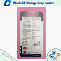 Cell phone & Mobile Accessories custom mini ziplock bag/Resealable packaging bag/ Plastic bag