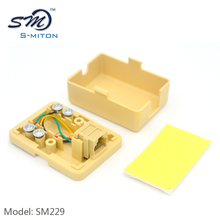 In stock rosette 6pin surface mount 4 core terminal rj11 telephone junction box