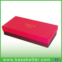 embossing cardboard paper box packing paper box