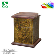 JS-URN1204 wholesale carving cremation urn for ashes