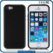 Wholesale Cell Phone Cover Multicolor Cover Soft TPU+ Hard PC Mobile Phone Case for iPhone 5