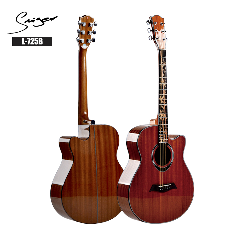 China made acoustic electric guitars with guitar accessories