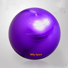 Professional anti-burst gymnastic ball weight loss PVC massage exercise yoga gym ball
