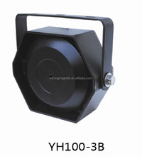 100w siren speaker wireless red flashing light siren 200 db