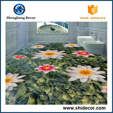 3d Printing Promotional Sticker 2016 new Product floor Self-adhesive stickers waterproof floor /wall mural