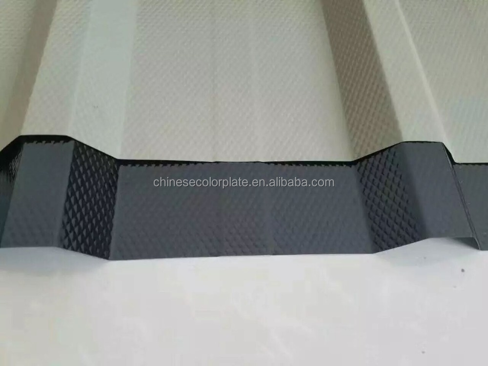 Common PPGI iron roofing metal tile coated corrugated steel sheet