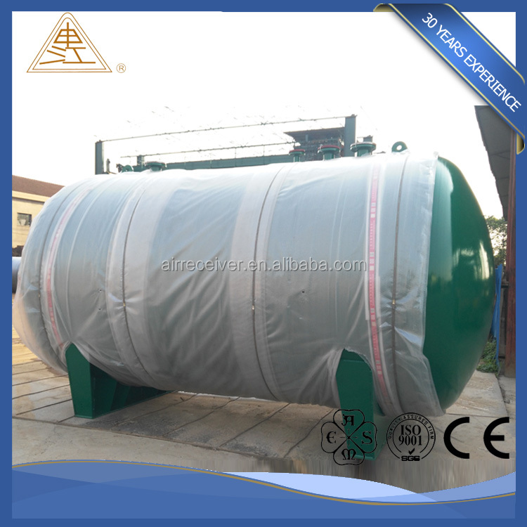 Customized stainless Steel Vertical / Horizontal pressure vessel with good price