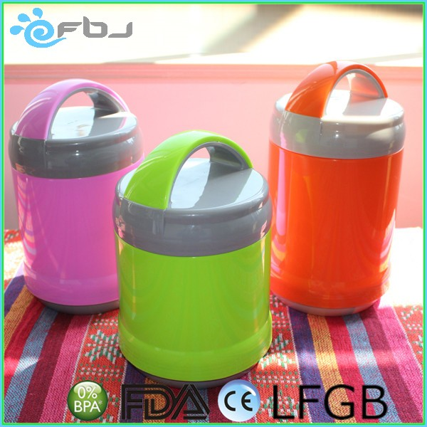 Colored Plastic Lunch Box Tiffin Carrier With Handle,Lunch Box Set For Adults