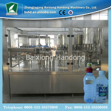 Mineral bottle water filling machine