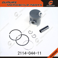 for YAMAHA 55.5MM DT125 BIKE motorcycle cylinderblock automobile aluminum motorcycle forged piston