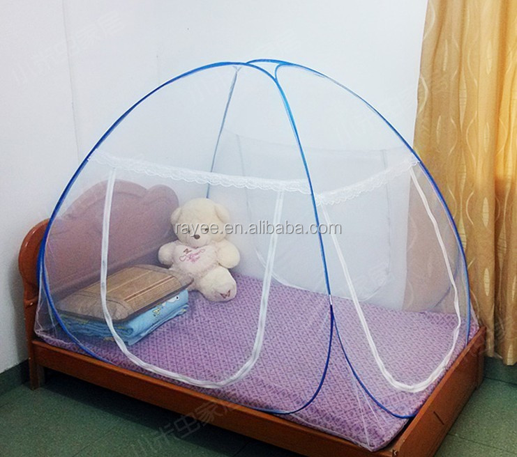 Folding Mosquito Net <strong>L</strong> 200 x W <strong>180</strong> x H 150cm,round shape pop up mosquito net tent/moskitonetz ,moustiquaire