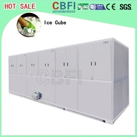 large cube ice size ice Cube Maker Machine large daily capacity