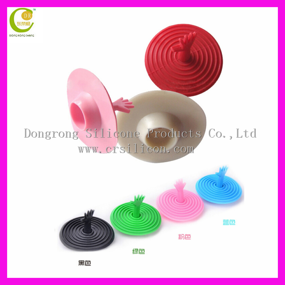 2017 Hot sale silicone drain stopper / silicone help sink plug / silicone floor drain