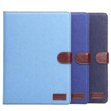 Fabric Jeans case for apple ipad air 2