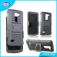 3 in 1 Protective Rubber Heavy Duty Robot Case for LG X190 Ray
