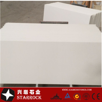 Super pure white quartz stone slab