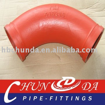 concrete pump elbow