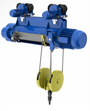 wireless remote control electric overhead hoist with trolley