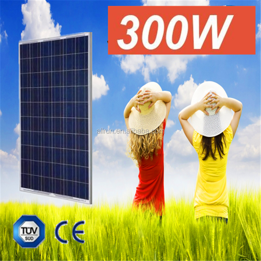 High efficiency over 19% lower price 12V 150w to 300w polycrystalline solar panel